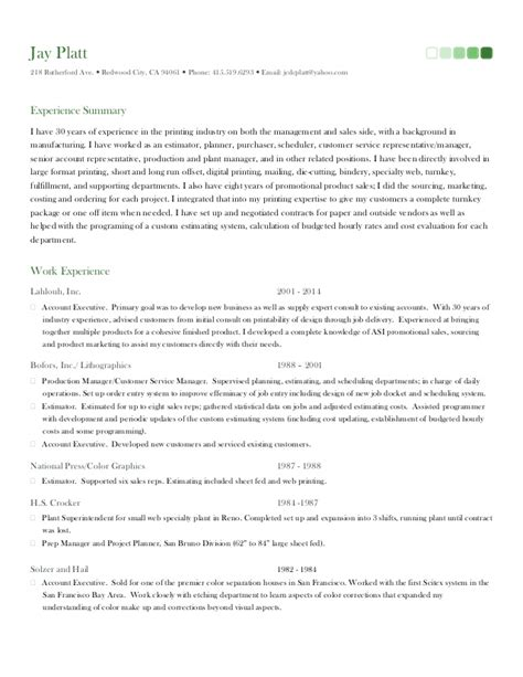 platts primary resume