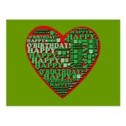 happy birthday st patricks day cards zazzle