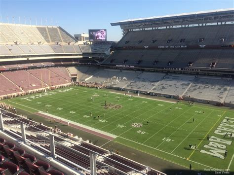 Kyle Field Visitor Section by Kyle Field Section 302 Rateyourseats