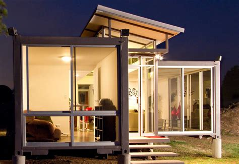 Small Homes Made From Shipping Containers Containers Of The Beast Turns Into The