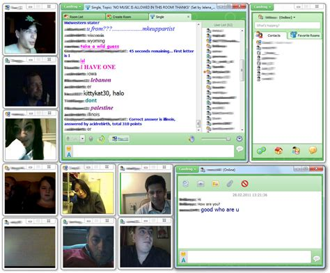 Chat Rooms Web Cams by Camfrog Screenshots