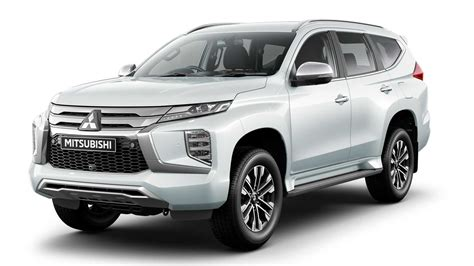 2020 mitsubishi pajero sport facelift 2020 mitsubishi pajero sport gets fresh updated interior