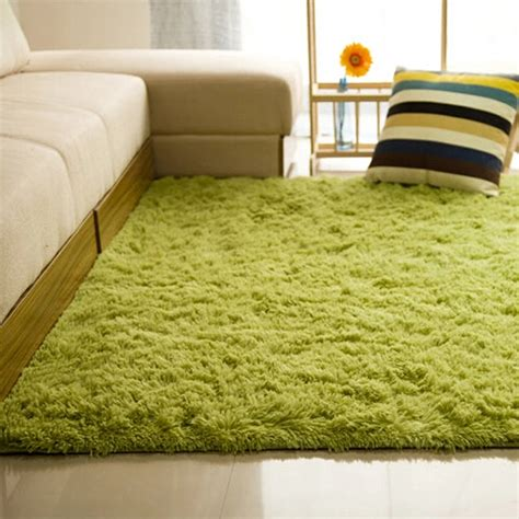living room mats shaggy anti skid carpets rugs floor mat cover 80x120cm