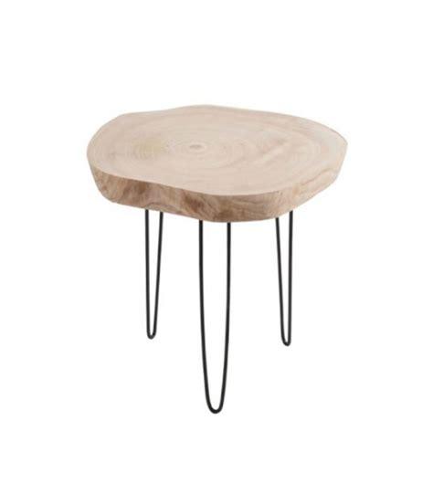 Table De Nuit Rondin De Bois by Table De Nuit Rondin De Bois Mini Table Table De Chevet