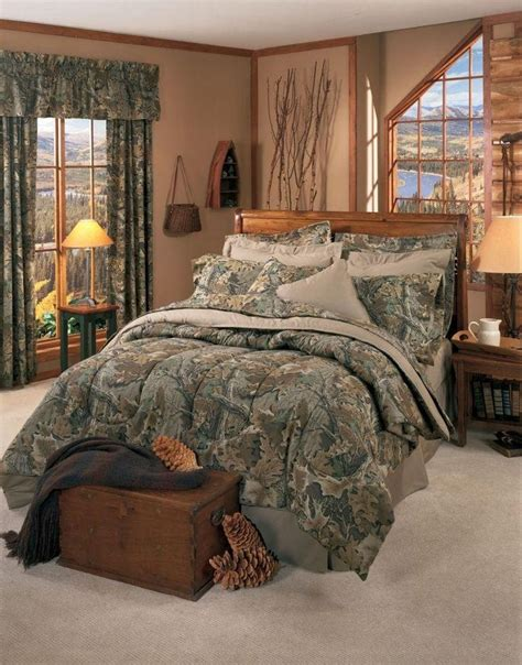 camo bedroom set realtree advantage classic 8 pc camo comforter set queen