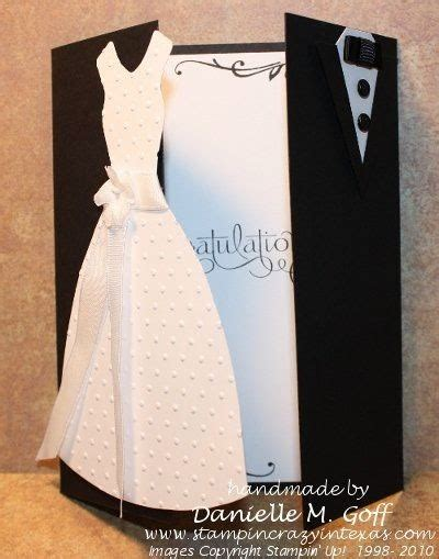 creative wedding day and groom dress up greeting cards creative things
