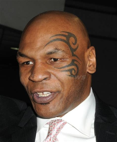 tyson face tattoo the mike tyson faces