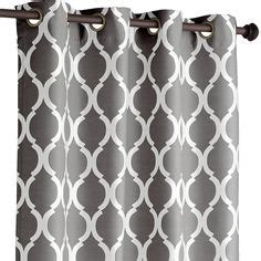grey geometric pattern curtains another great find on zulily gray harris blackout
