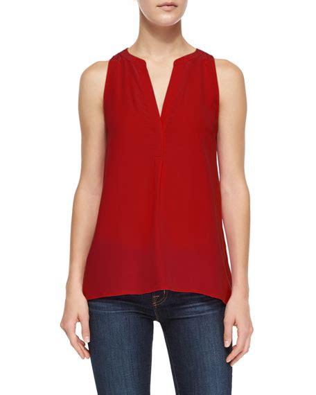 Aruna Dress joie aruna sleeveless silk blouse neiman