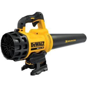 cordless blower home depot dewalt 90 mph 400 cfm 20 volt max lithium ion cordless