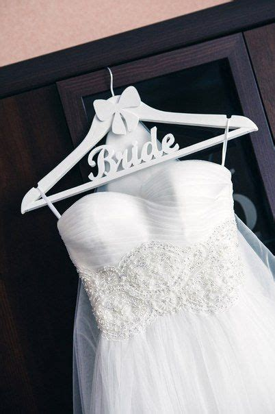 Wedding Dress Hanger Bride Hanger Shaped Wood Wedding by