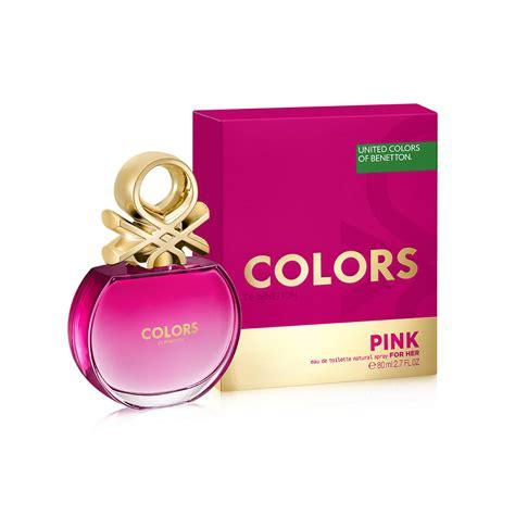 colors of benetton colors de benetton pink benetton perfume a new fragrance