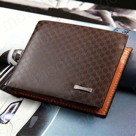 Dompet Coach Slim Wallet european new fashion genuine pu leather plaid wallet