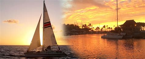 catamaran kauai north shore north shore catamaran sunset sail hawaii discount
