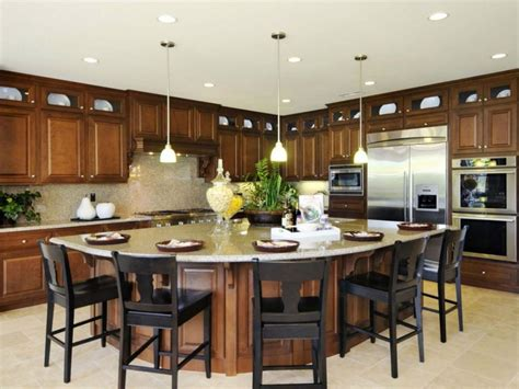 Kitchen Island Designs With Seating Photos Fantastic Kitchen Island With Seating For 8 Image Resource Atthepostotb