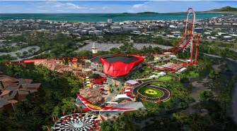 Land Portaventura Inpark Magazine Construction Begins On Portaventura S