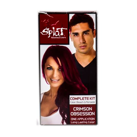 splat color splat hair color splat hair dye reviews tutorials and
