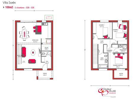 Hangar Home Floor Plans Les 25 Meilleures Id 233 Es De La Cat 233 Gorie Plan Maison 100m2