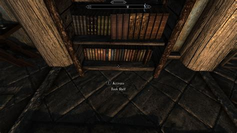bookshelves updated skse script at skyrim nexus mods and