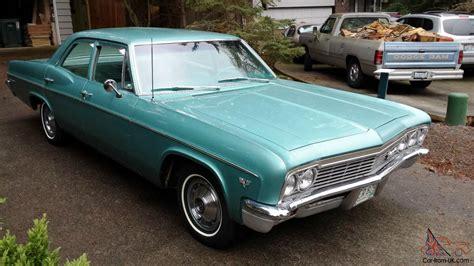 1966 chevrolet belair 4 door sedan