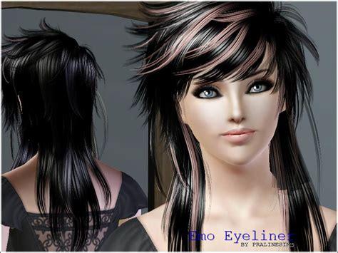 emo boy sims 4 pralinesims emo eyeliner