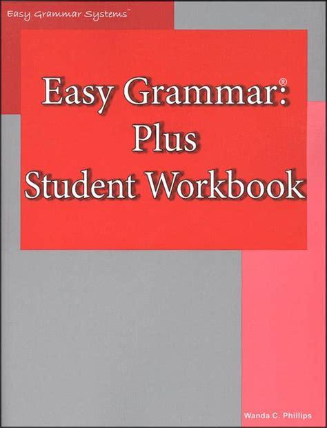 Grammar Workbook P2 easy grammar plus workbook 037848 details rainbow resource center inc