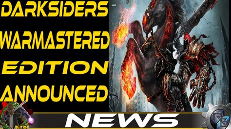 Sony Ps4 Darksiders Warmastered Edition darksiders warmastered edition announced for xbox one ps4 pc and wii u