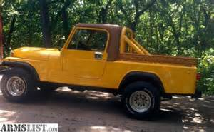 Jeep Cj8 Scrambler For Sale Armslist For Sale 1982 Jeep Scrambler Cj8 W 350 Chevy S