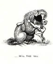 1962 thelwell cuddle pony print