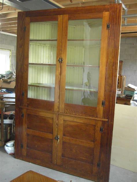 The Vintage Cupboard - antique primitive corner cabinet cupboard hutch 1800 s