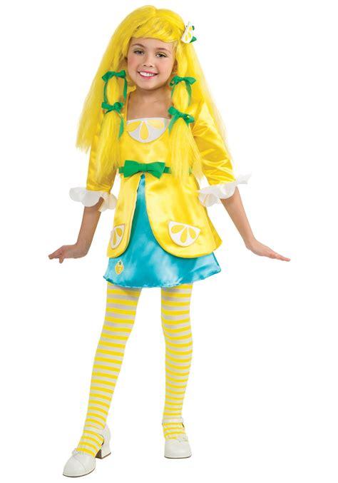 revealing little girl halloween costumes deluxe lemon meringue costume