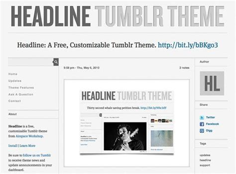 tumblr themes free business 5 beautiful tumblr themes for small businesses