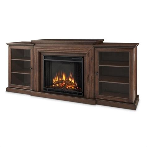 Finish Fireplace by Real Frederick Entertainment Electric Fireplace In
