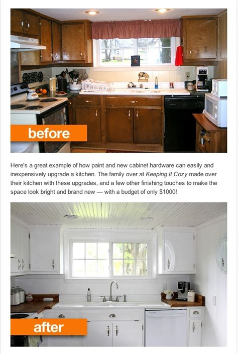 easy kitchen update ideas easy kitchen update before and after kitchen ideas