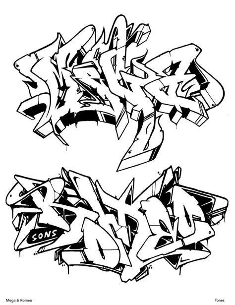 graffiti coloring book graffiti coloring book 3 international styles