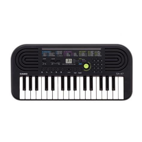 Keyboard Casio Sa 47 casio sa 47 mini keyboard org
