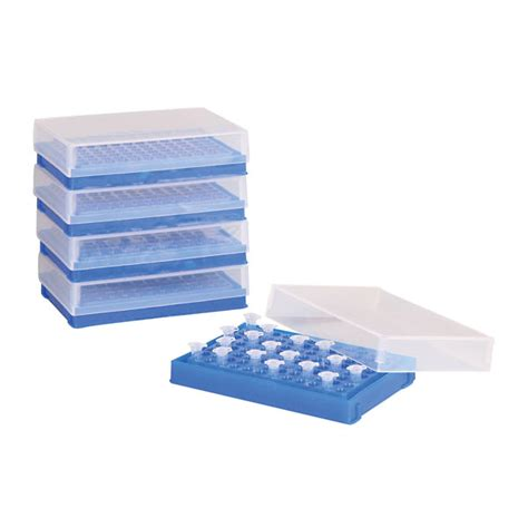Pcr Rack by Pcr Plate Preparation And Storage Racks Blue 5 Pk From