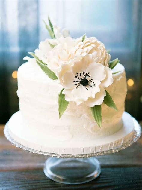 Wedding Cake One Tier by Single Tier Wedding Cakes