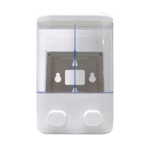 01963 Dispenser Sabun Wadah Sabun Cair jual custom kidsmart dispenser wadah sabun cair dan sho 2 in 1 aksesoris kamar mandi
