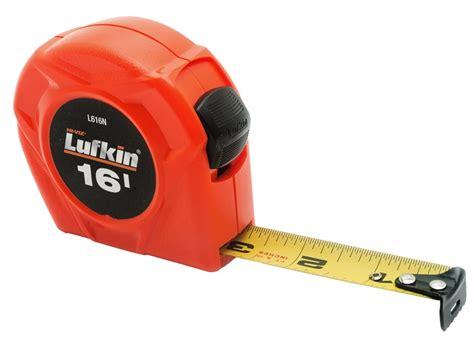Lufkin L616n Tape Measure Sae 3 4 In W X 16 Ft L Coated