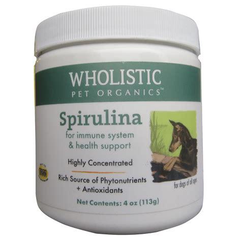 spirulina for dogs wholistic pet organics spirulina supplement for dogs naturalpetwarehouse
