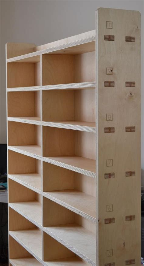 top 25 best plywood bookcase ideas on plywood