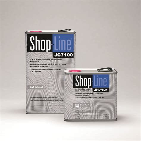 ppg introduces shop line 2 1 voc multi panel clear ppg paints coatings and materials