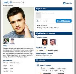 profile for dating site template dating profile for hunger josh