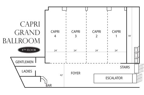 ballroom floor plan capri ballroom meeting venues at peppermill resort spa