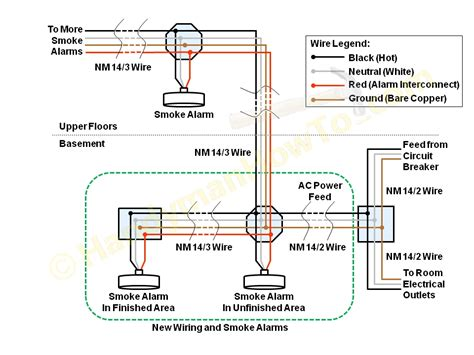 how to wire smoke detectors in series diagram wiring