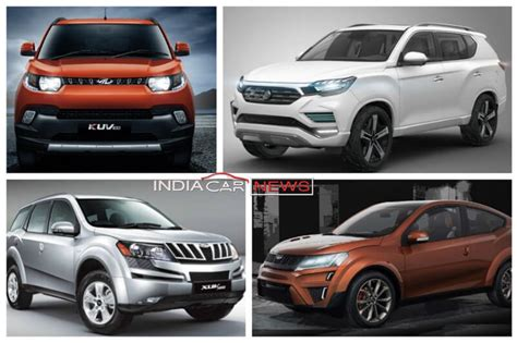 mahindra all cars models mahindra to launch 8 cars in india in the next 2 years