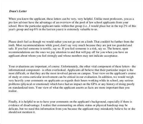 Letter Of Recommendation From College Dean Letters Of Recommendation For Graduate School 38 Free Documents In Pdf Word