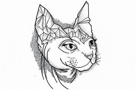 tattoo sketch cat cat tattoo sketch by krasovka on deviantart