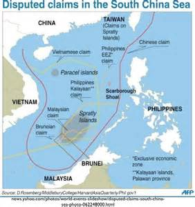 South China Sea Dispute Map by Complex Territorial Disputes In The South China Sea